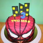 Petites Sucreries - Gâteau au Fondant Spiderman