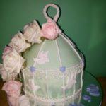 Petites Sucreries - Gâteau au Fondant Cage Florale