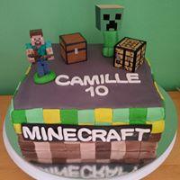 Petites Sucreries - Gâteau au Fondant Minecraft