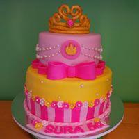 Petites Sucreries - Gâteau au Fondant Princesse