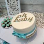 Petites Sucreries - Gâteau au Fondant Shower de bébé baby shower