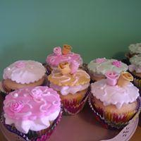 Petites Sucreries - Cupcakes (Crème au beurre) Fleurs