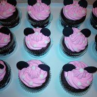 Petites Sucreries - Cupcakes (Crème au beurre) Minnie Mouse 1