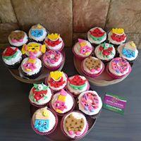 Petites Sucreries - Cupcakes (Crème au beurre) Variés