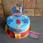 Petites Sucreries - Gâteau au Fondant Pat Patrouille Paw Patrol