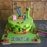 Petites Sucreries - Gâteau au Fondant Minecraft 2