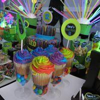 Petites Sucreries - Cupcakes (Crème au beurre) Multicolores