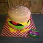 Petites Sucreries - Gâteau au Fondant Hamburger