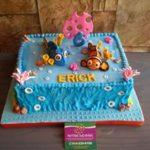 Petites Sucreries - Gâteau au Fondant Nemo Dora