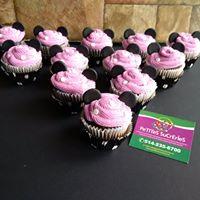 Petites Sucreries - Cupcakes (Crème au beurre) Minnie Mouse 2