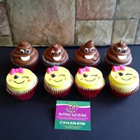 Petites Sucreries - Cupcakes (Crème au beurre) Emojis