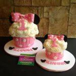 Petites Sucreries - Gâteau (Crème au beurre) Minnie Mouse
