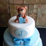 Petites Sucreries - Gâteau au Fondant Shower de bébé Garçon