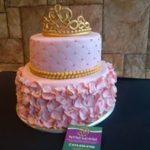 Petites Sucreries - Gâteau au Fondant Couronne Princesse