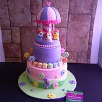 Petites Sucreries - Gâteau au Fondant Pony