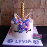 Petites Sucreries - Gâteau au Fondant Licorne