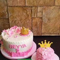 Petites Sucreries - Gâteau au Fondant Bébé Fille 1 an