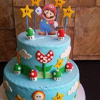 Petites Sucreries - Gâteau au Fondant Mario Bros