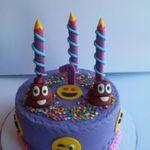 Petites Sucreries - Gâteau au Fondant Emoji