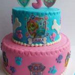 Petites Sucreries - Gâteau au Fondant Pat Patrouille Fille