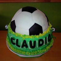 Petites Sucreries - Gâteau au Fondant Soccer