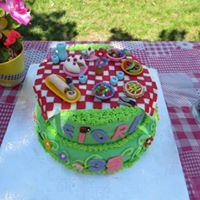 Petites Sucreries - Gâteau au Fondant Picnic