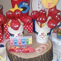 Petites Sucreries - Cakepops Elmo