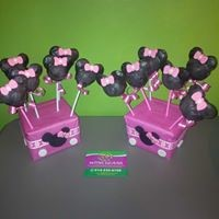 Petites Sucreries - Cakepops Minnie Mouse