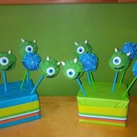 Petites Sucreries - Cakepops Monsters Inc