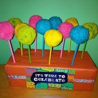 Petites Sucreries - Cakepops Couleurs