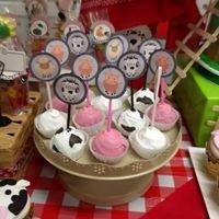 Petites Sucreries - Cakepops Animaux de ferme